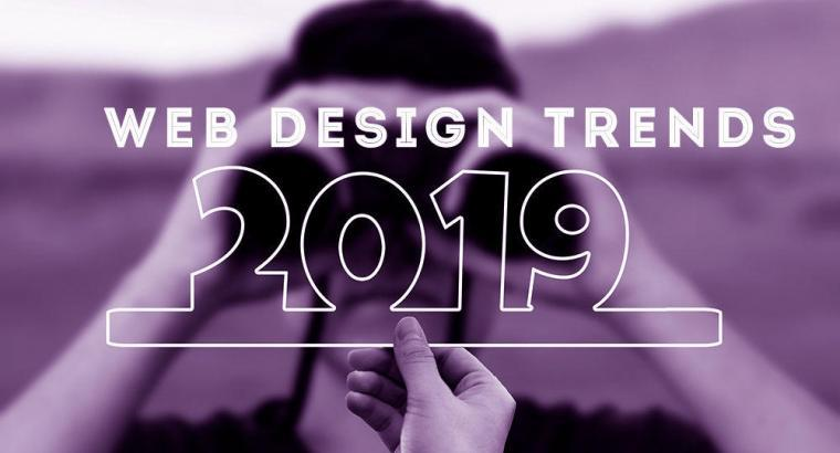 Web Design Is Moving Forward! The Biggest Web Design Trends of 2019